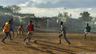 Football tournament attracts over 1000 people to screen for TB and HIV